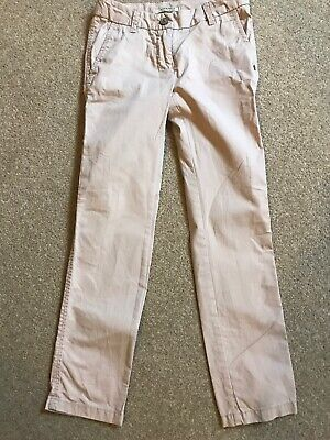 Scotch R Belle Dusky Pink Girls Adjustable Waist Trousers Age 8 VGC