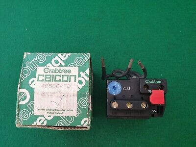 49500/FD Crabtree Ceicon Overload Relay 50 - 63 Amp