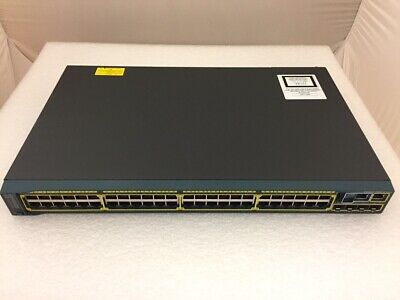 Cisco WS-C2960S-48TS-L 2960-S 48-Port GbE 4-Port SFP Switch - Stacking Module