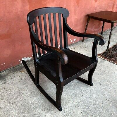 RARE! Antique 1920's (Plymouth Rockers) American Rocking Chair Great Condition!