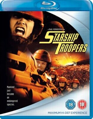 Starship Troopers (BLU-RAY, 1997) *NEW/SEALED* 8717418129217, FREE P&P
