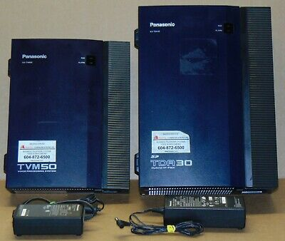 Panasonic KX-TDA30 Phone System with KX-TVM50 Integrated Voice Processing Unit
