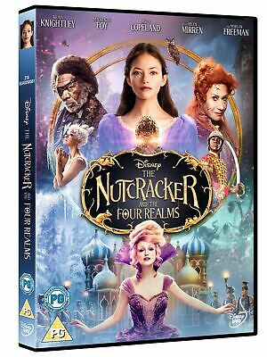 The Nutcracker and the Four Realms (DVD, 2018) *NEW/SEALED* FREE P&P