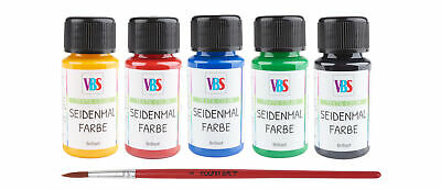 VBS Seidenmalfarbe, 5er-Set, à 50 ml