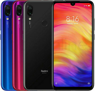 Xiaomi Redmi Note 7 64GB 4GB GSM Factory Unlocked Global Version Blue (USED)