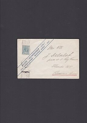 Uruguay First Flight Cover Montevideo to Buenos Aires Costes Lebrix 1927 V26b