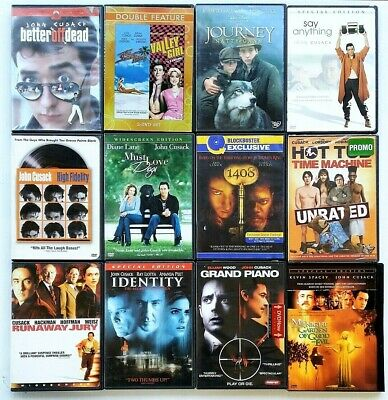 John Cusack 13 DVD Lot: Say Anything/The Sure Thing/Better Off Dead/Hot Tub