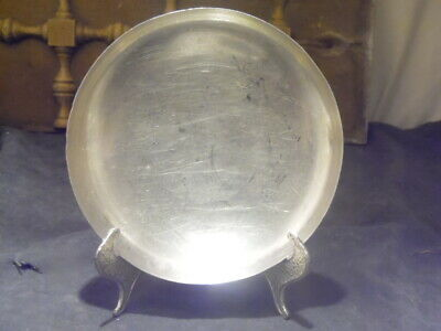 Tiffany & Co. Sterling Silver~London 1648 Reproduction~Moderne Footed Low Bowl