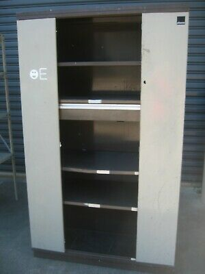 Storage Cabinet, Two Sliding Drawers, Storage, Office, Home, Business