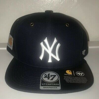 56704de7 NEW New York Yankees MLB X Carhartt Snapback 47 Hat SOLD OUT EVERYWHERE
