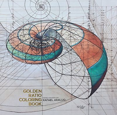 Golden Ratio Coloring Book by Rafael Araujo Kickstarter limited edition