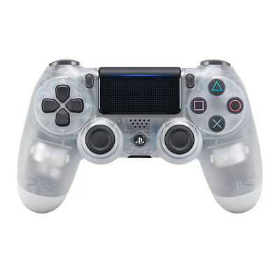 PlayStation 4 PS4 DualShock 4 Crystal Wireless Controller NEW