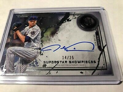 2019 Topps Museum Collection Jacob DeGrom Autograph AUTO #14/25Cy Young Mets