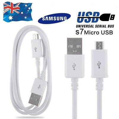 Samsung /Android FAST CHARGE  Micro USB Data Charger Cable Galaxy  S6 S7 Note 5