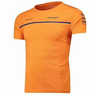Formula 1 McLaren 2019 Team Set Up T Shirt Papaya Mens Fanatics