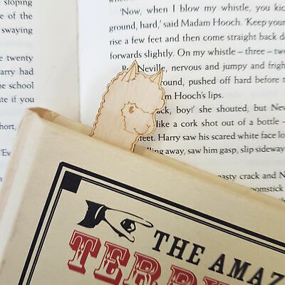 Advice Llama Bookmark - Cute Funny Alpaca Bookmark Book Lovers Gift