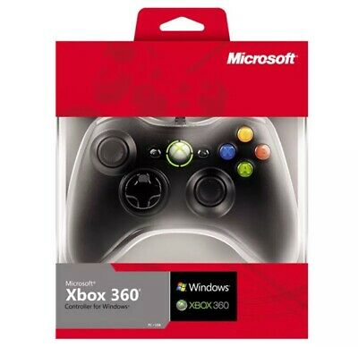 Microsoft Xbox 360 Wired Controller for Windows 10 PC Gamepad SAME DAY EXPRESS P