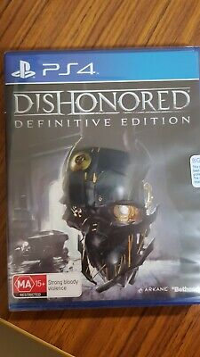 Dishonored Definitive Edition PS4 New & Sealed PAL