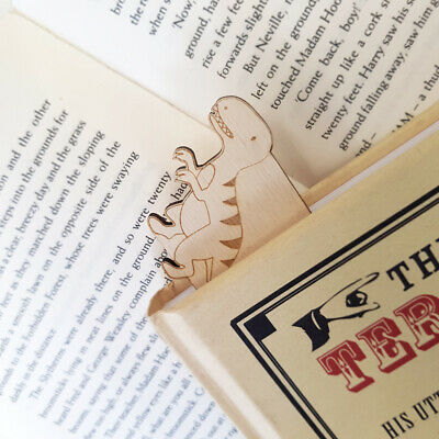 Dinosaur Bookmarks - Thesaurus Joke T-rex Funny Bookmark Book Lovers Gift