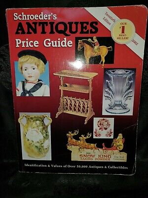 Schroder's Antiques Price Guide 20th Edition  F3-B