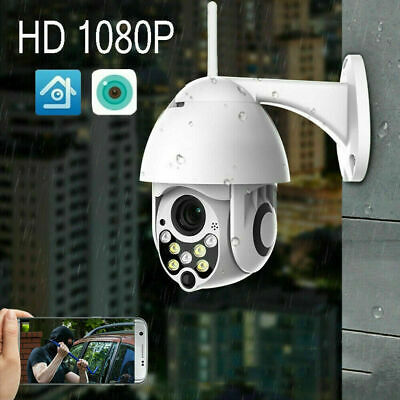 NEW 1080P HD WIFI IP Camera WHITE Wireless Outdoor CCTV Home Security IR Cam 2MP