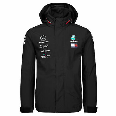 Formula 1 Mercedes AMG Petronas 2019 Team Rain Jacket Mens Fanatics