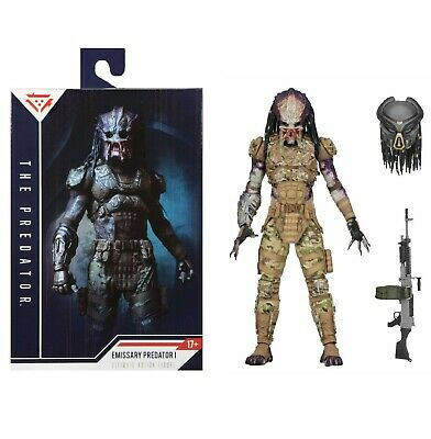 "NECA Predator Ultimate Emissary #1 2018 7"" Scale Action Figure Camouflage"