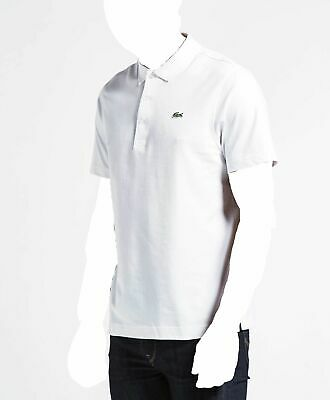 efdc6a71 $575 LACOSTE SPORT Mens SLIM FIT WHITE SHORT SLEEVE POLO CROC LOGO ...