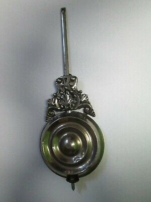 Antique Ansonia Chrome Kitchen / Parlor / Shelf Clock Pendulum Replacement Part