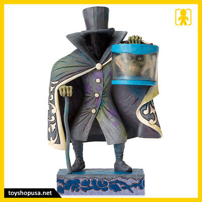 Disney Haunted Mansion Hatbox Ghost Glow in the Dark Figure Statue Jim Shore