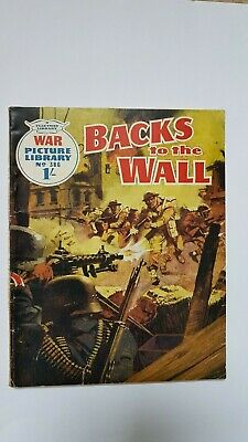 War Picture Library No. 386 - Backs to the Wall