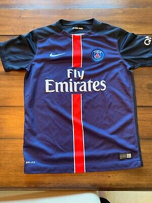 f9c43cf86 Paris Saint Germain Youth Large Jersey Neymar Mbappe Jordan Authentic Nike  Psg