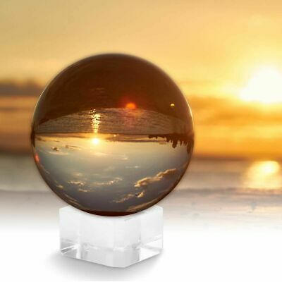 Crystal Sphere Ball Stands K9 Clear Glass Balls Lensball Background Decorations