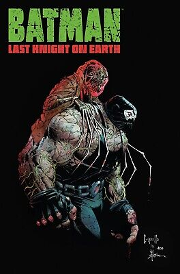 Batman Last Knight On Earth #2 - Dc Black Label - Release Date 31/07/19
