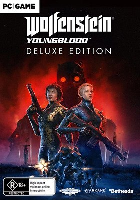 Wolfenstein Youngblood Deluxe Edition With Pre-Order Bonus DLC PC Game NEW PREOR