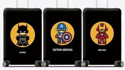 Limited Edition Marvel Luggage Cover Elastic Luggage Protector
