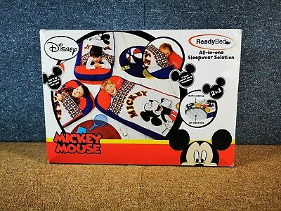 Mickey Mouse Ready Bed All-In-One Sleepover Solution Air Bed Kids