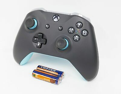 Official Microsoft Xbox One Wireless Controller Gray/Blue WL3-00105