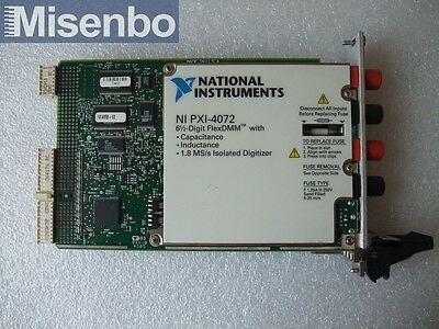 100% TEST National Instruments NI PXI-4072 6.5 Digit FlexDMM Card