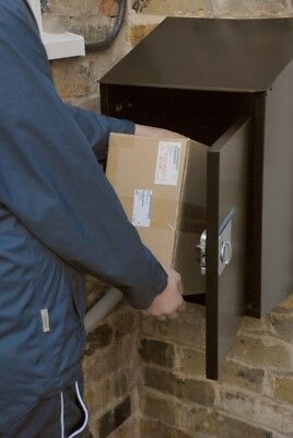 Large Secure Parcel Box for Home Collection & Delivery, Web Enabled FREE POSTAGE