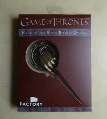 Official Game Of Thrones Hand Of The King Bottle Opener Factory Entertainment