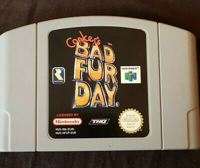 Conker's Bad Fur Day (Nintendo 64, 2001) - PAL Cart Only