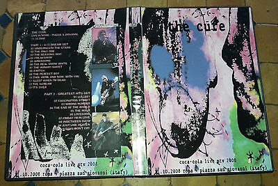 The Cure - Live in Rome, Coca Cola MTV, 11.10.2008 DVD Special Fan Edition