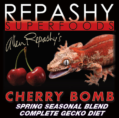 Repashy Superfoods - Cherry Bomb - Complete Gecko Diet
