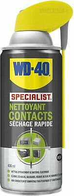 WD-40 Specialist Nettoyant Contacts Aérosol Double Position 250 ml