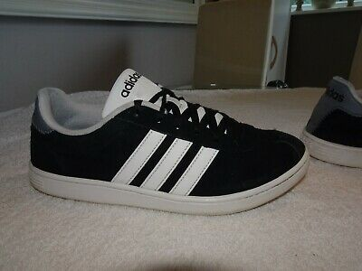 Adidas Originals Pro Model J White//Silver Mid Top Trainers Shoes UK 6/_6.5