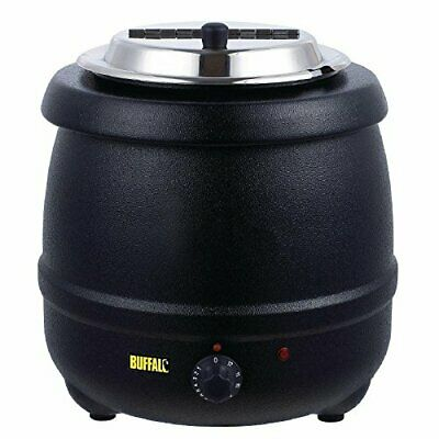 Large Electric Soup Kettle Chilli Stew Curry Mulled Wine Peas 10L Food Warmer