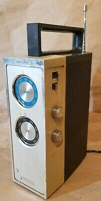 RCA Model: RZM 175J | Solid State AM PS Portable Tabletop Radio | NO POWER