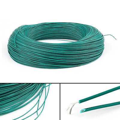 20M Green Flexible Stranded UL1007 28AWG Electronic Wire PVC Cable 300V ROHs CA