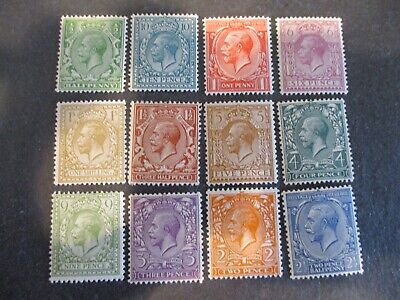 Great Britain #187-200 Mint Hinged- (3D2) WDWPhilatelic